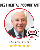 The New Dentist Names Allen Schiff Best Dental Accountant 2021
